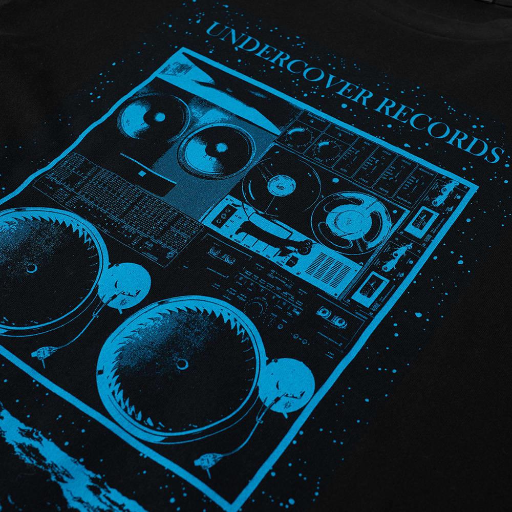 Undercover Records Tee - Black