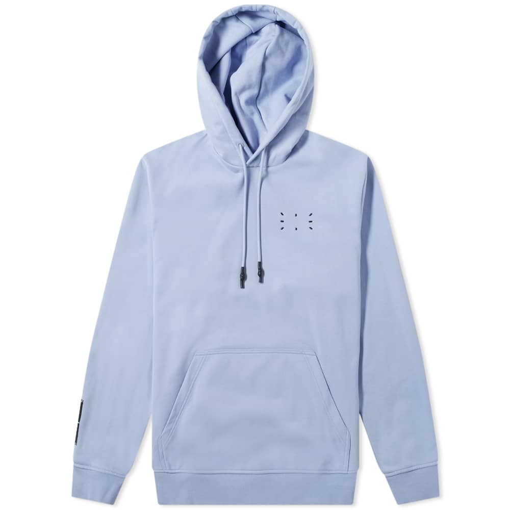 McQ Relaxed Fit Pop Over Hoody - Hyper Lilac