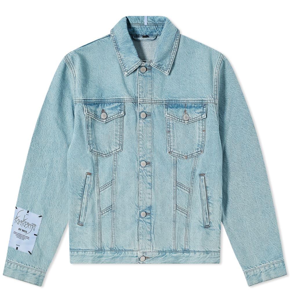 McQ Fantasma Denim Jacket - Stonewashed Blue