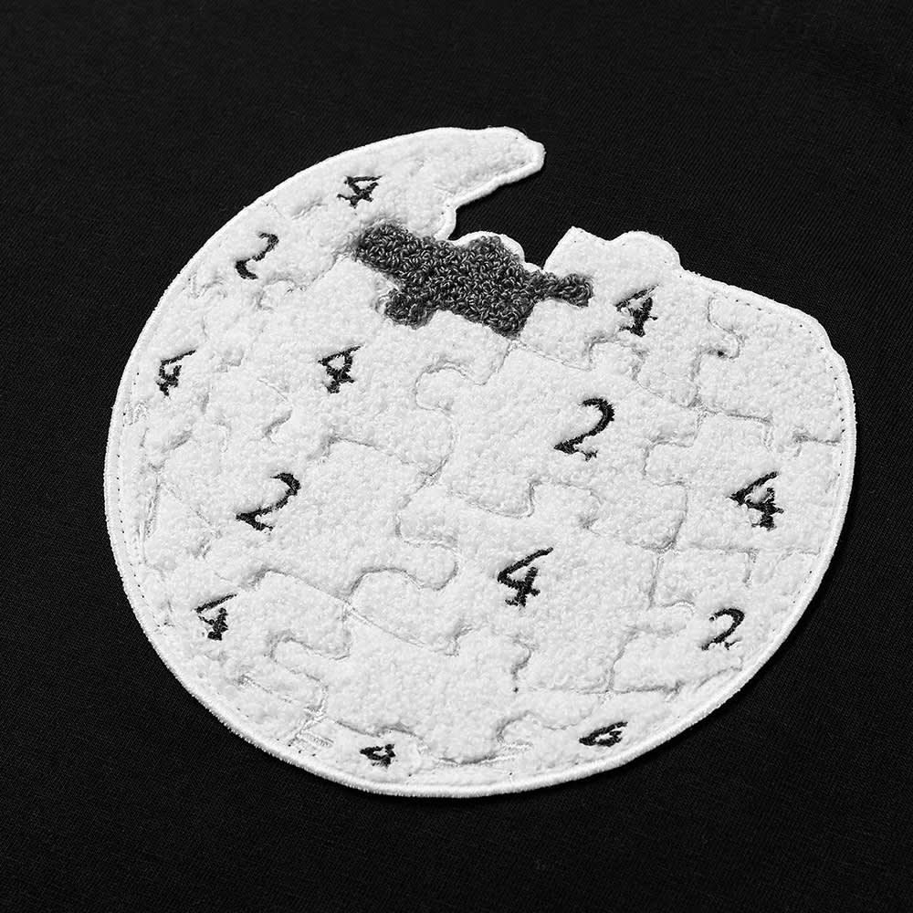 424 Wiki Logo Tee - Black