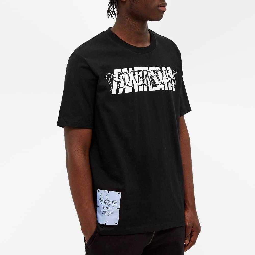 McQ Fantasma Tee - Darkest Black