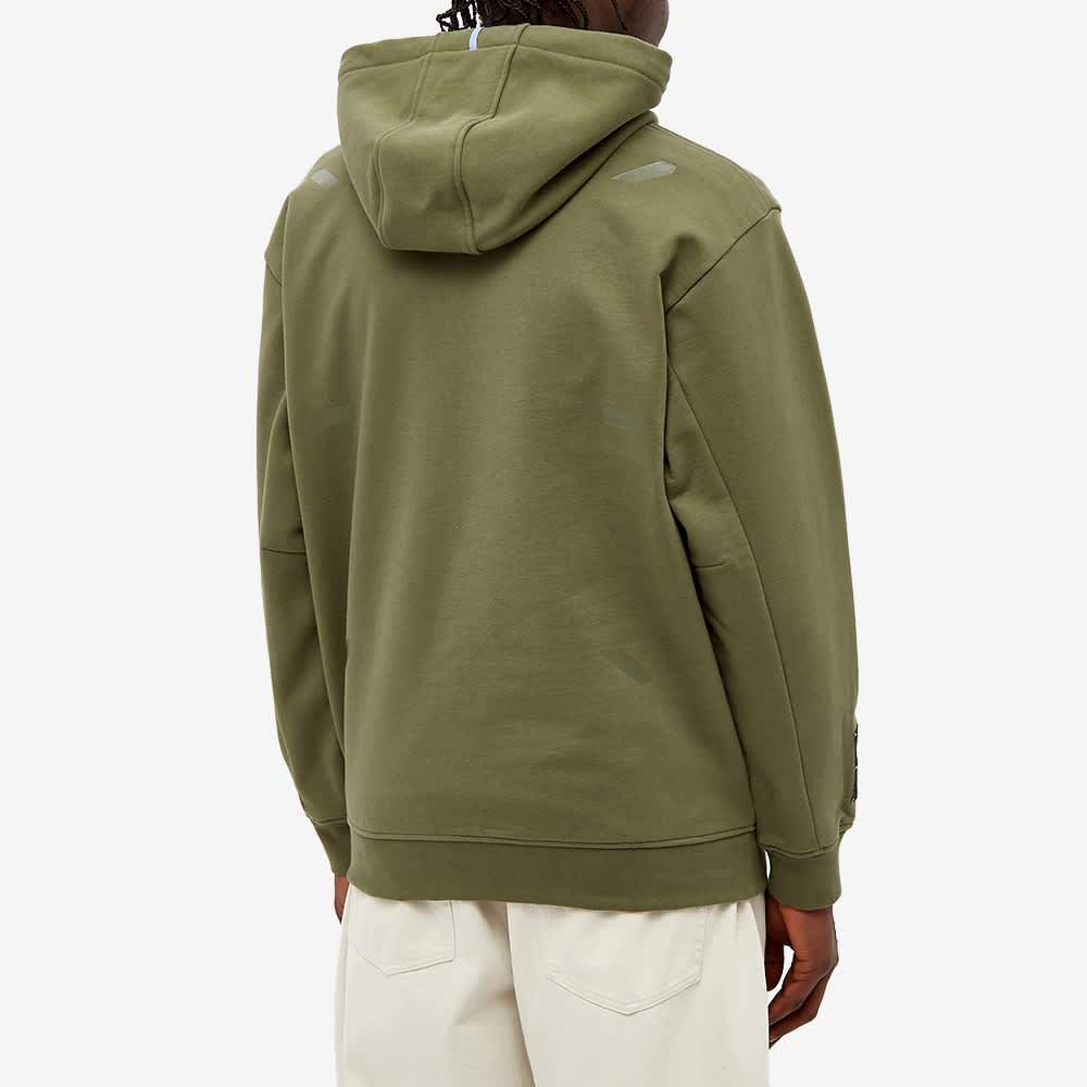 McQ Relaxed Fit Pop Over Hoody - Khaki