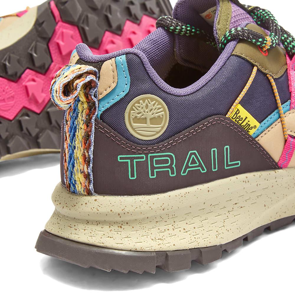 Timberland x BEE Line Garrison Trail Low - Dark Purple & Brown