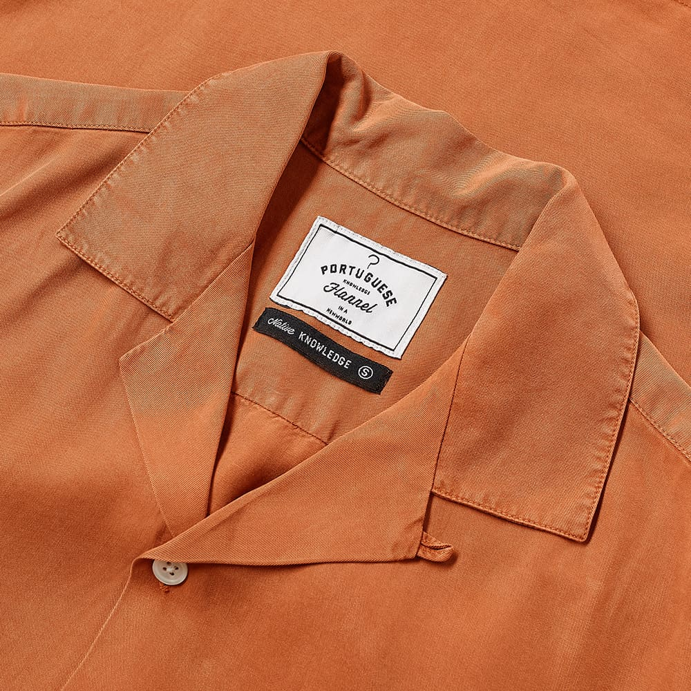 Portuguese Flannel Dogtown Vacation Shirt - Terracotta