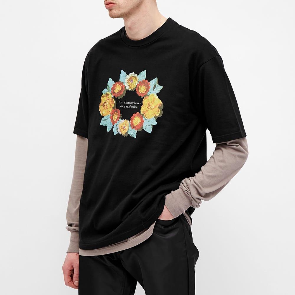 Undercover Roses Tee - Black