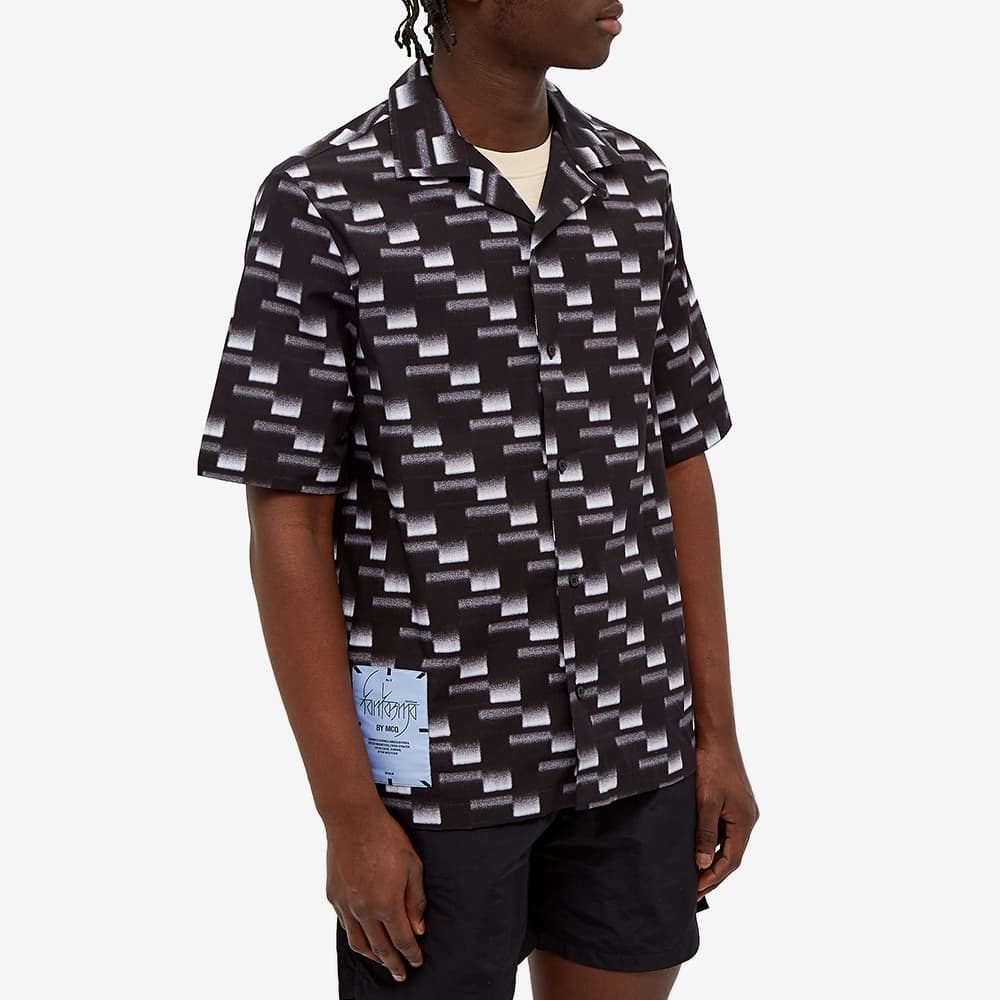 McQ All Over Print Vacation Shirt - Carbon
