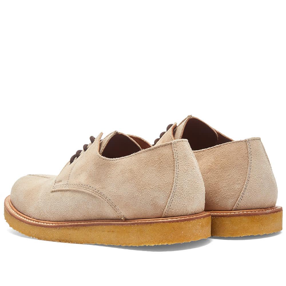 Wild Bunch Seam Shoe - Beige Suede