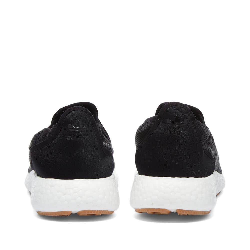 Adidas x Human Made Slip-On Pure - Core Black & White