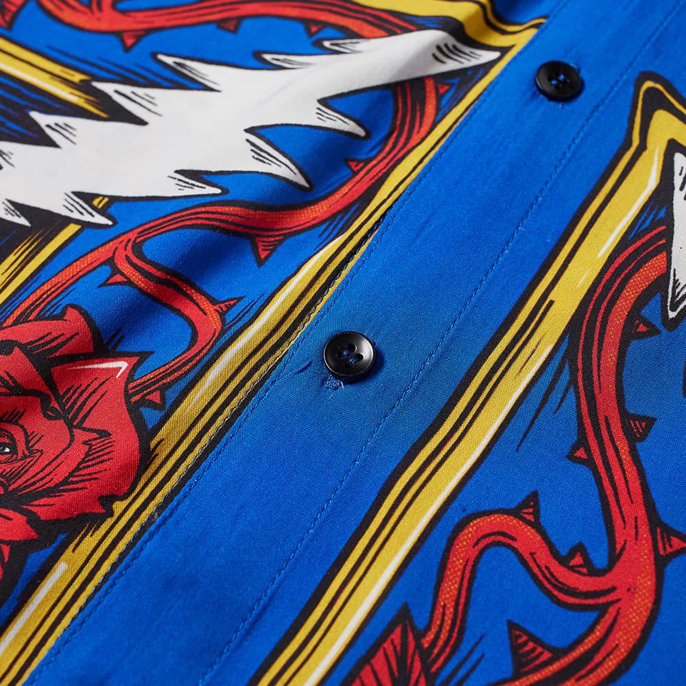 Chinatown Market x GD Short Sleeve Border Bandana Shirt - Multi