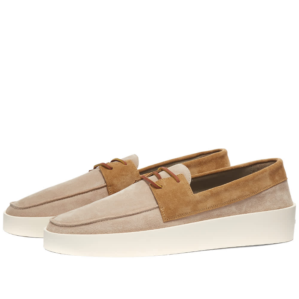 Fear Of God Boat Sneaker - Cream, Caramel