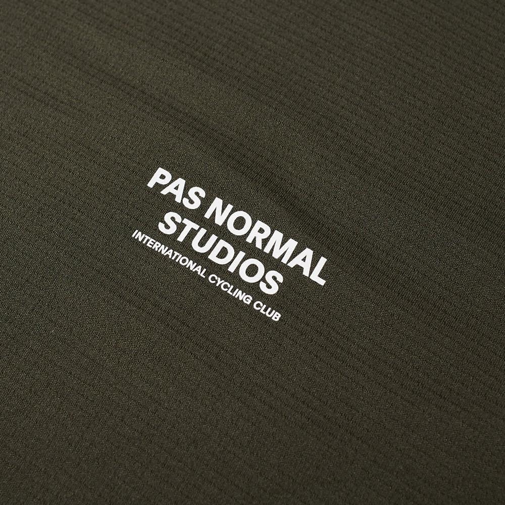 Pas Normal Studios  Long Sleeve Balance Tee - Dark Olive