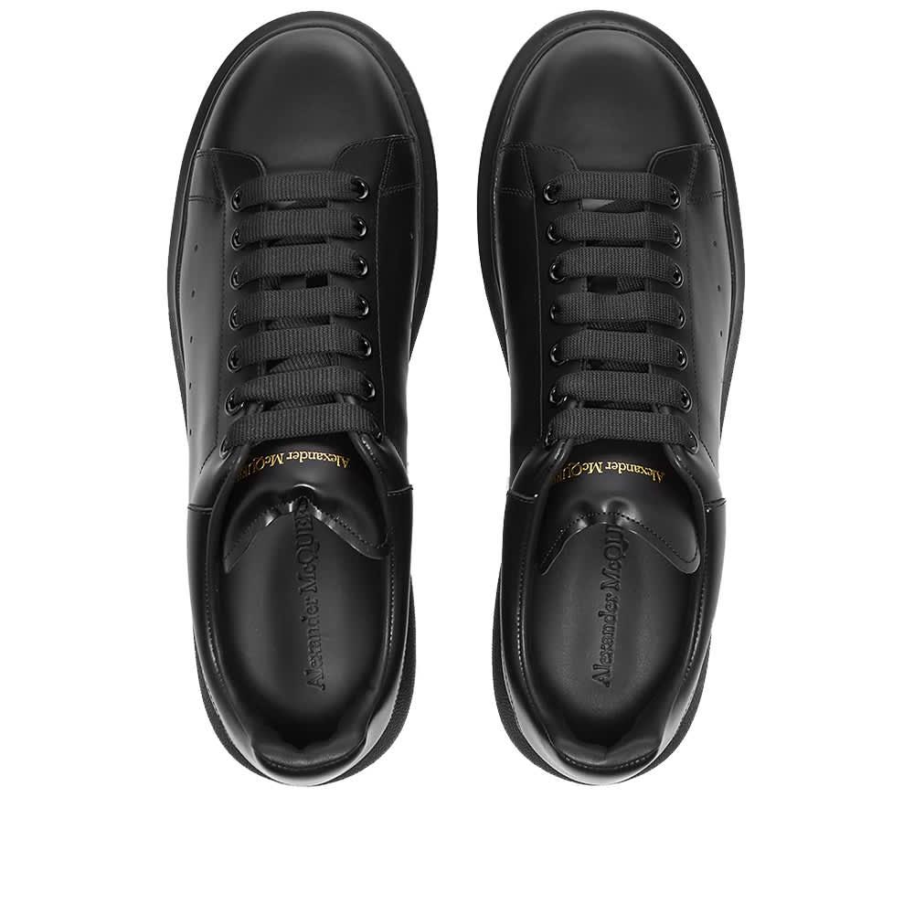 Alexander McQueen Wedge Sole Sneaker - Triple Black