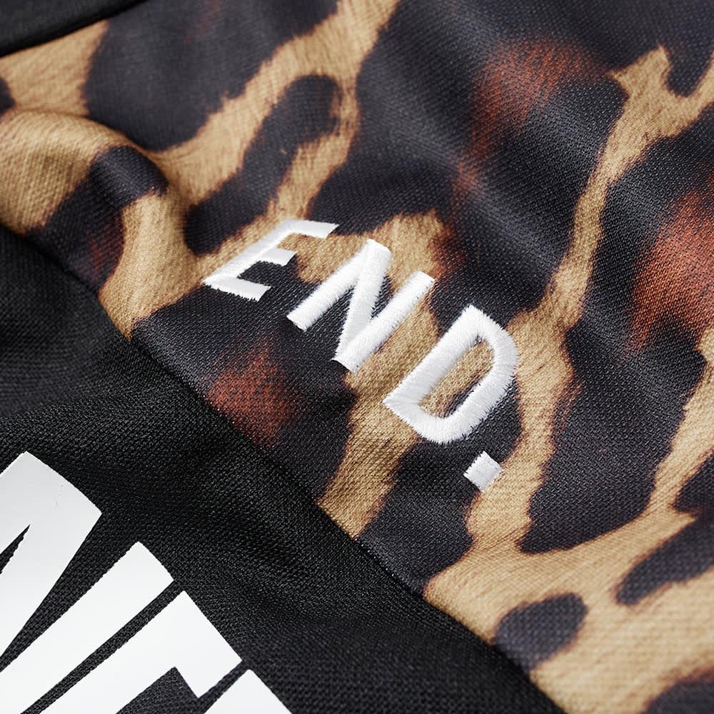 END. x Adidas x Neighborhood Oversize Vintage Jersery - Leopard & Black