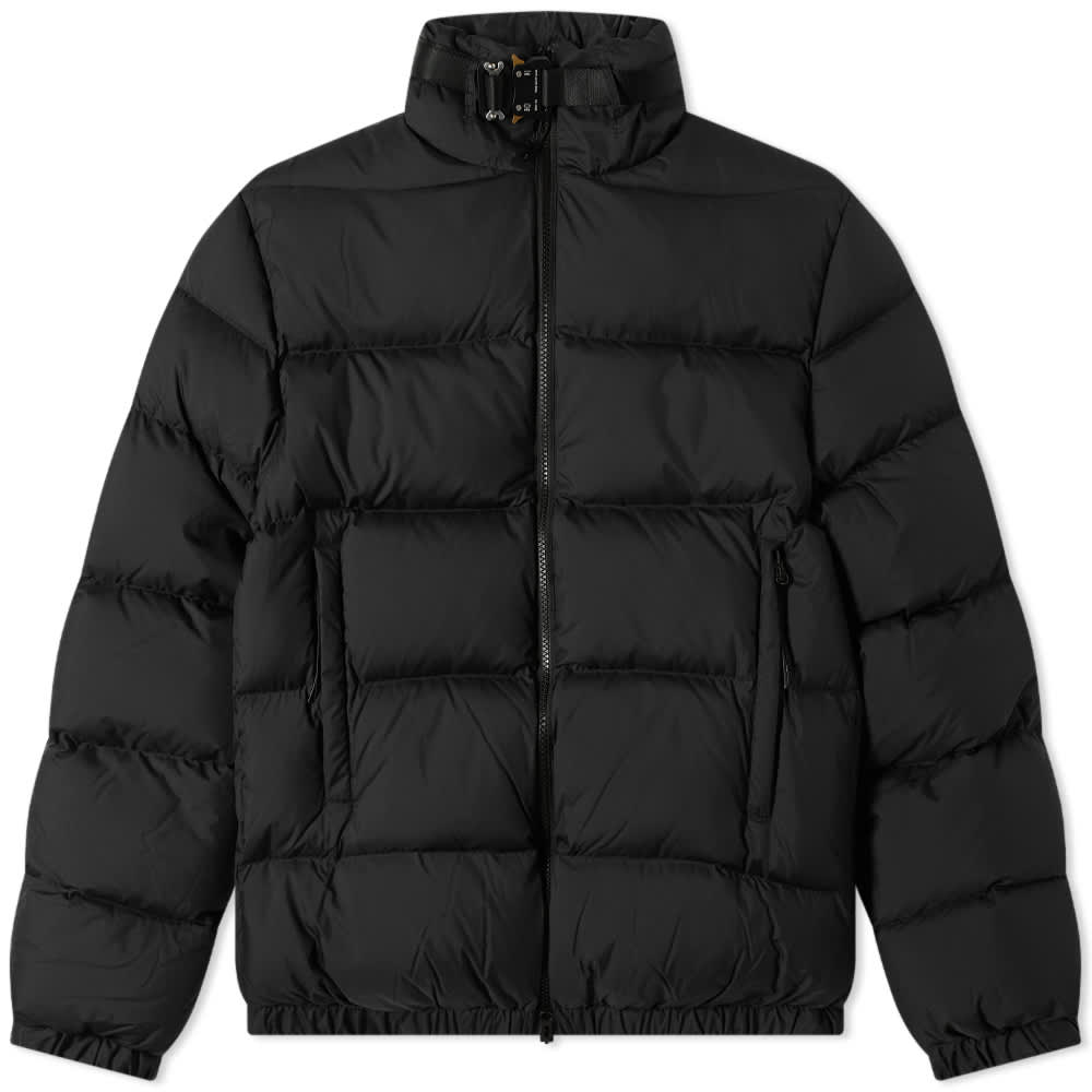 END. x 1017 Alyx 9SM Nylon Puffer With Silver Buckle - Black