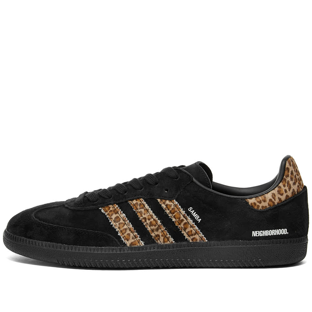 END. x Adidas x Neighborhood Samba - Black & Leopard
