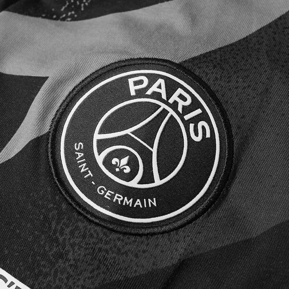 Air Jordan x PSG Jock Tee - Black