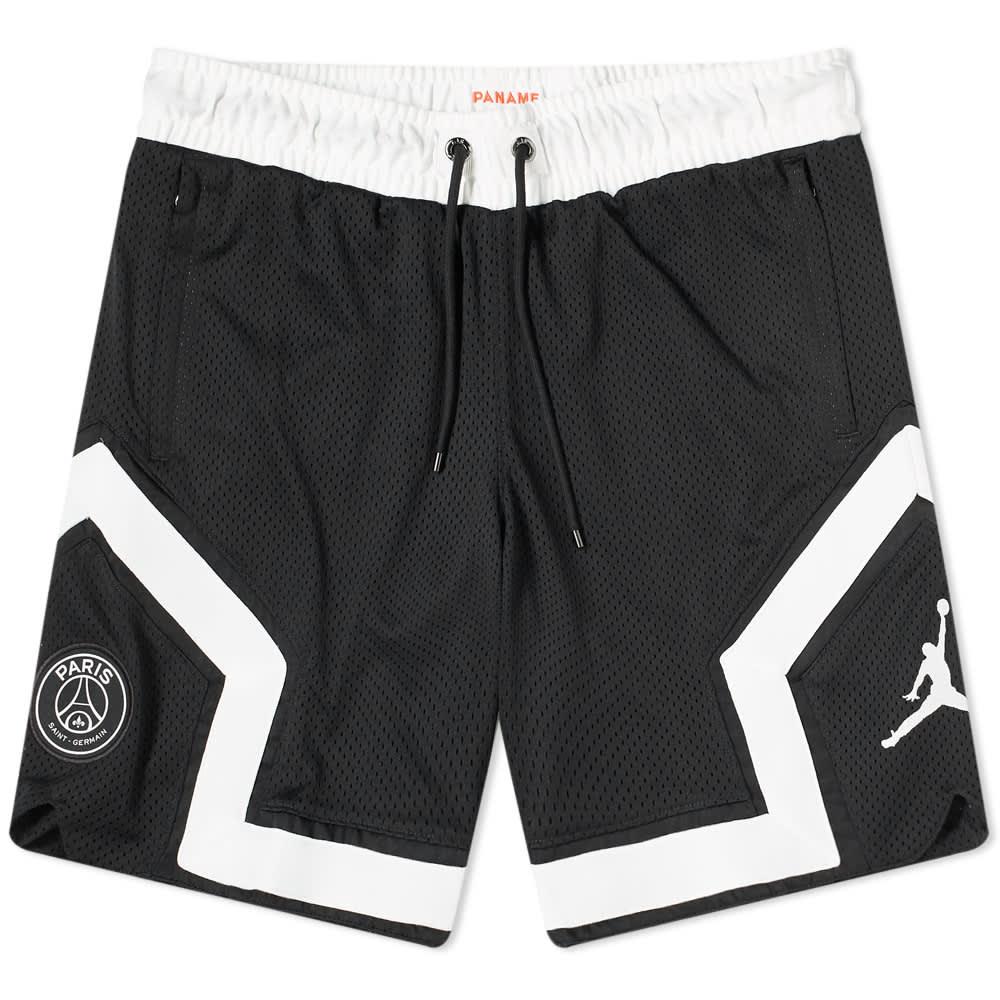 Air Jordan x PSG Short - Black & Infrared