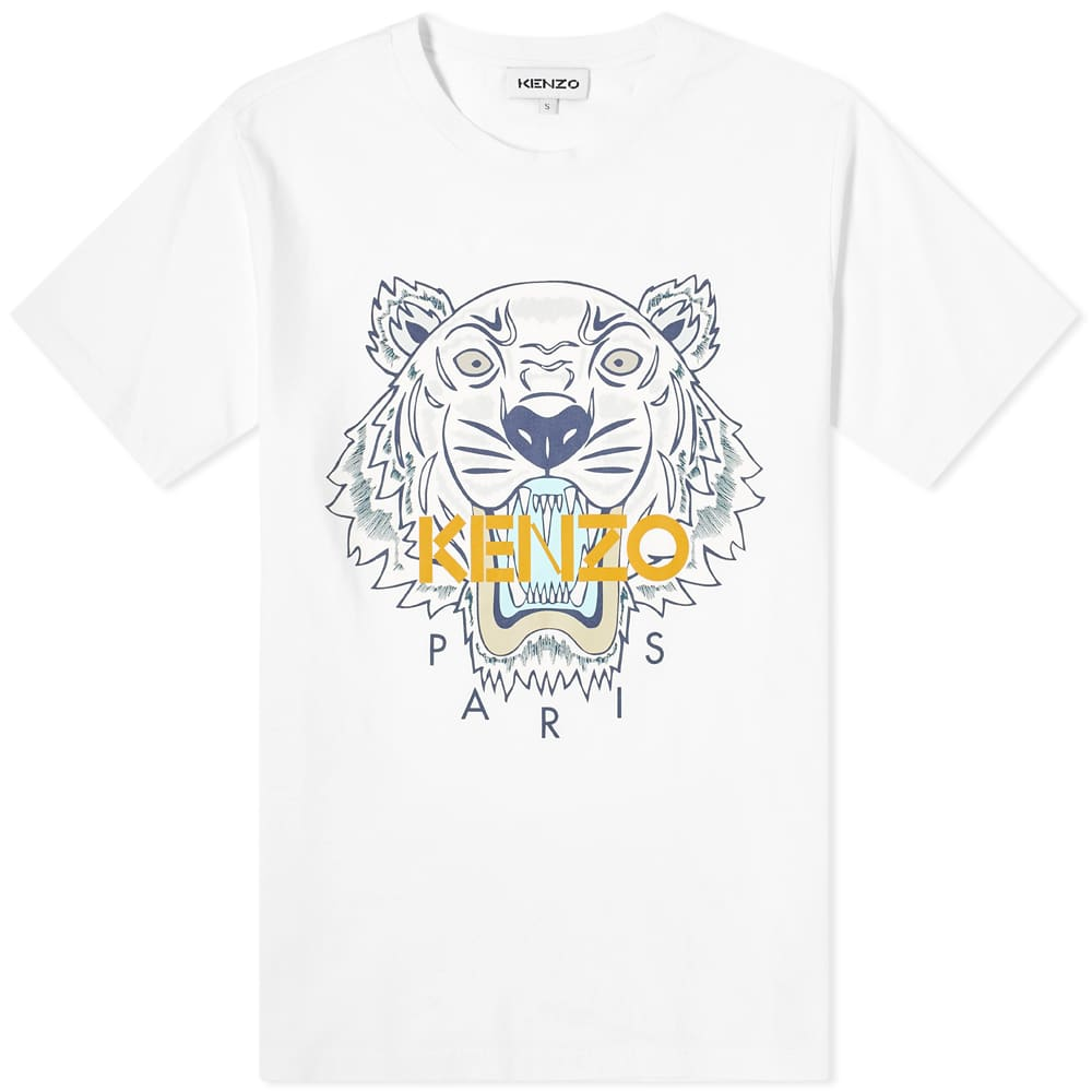 Kenzo Tiger Classic Tee - White
