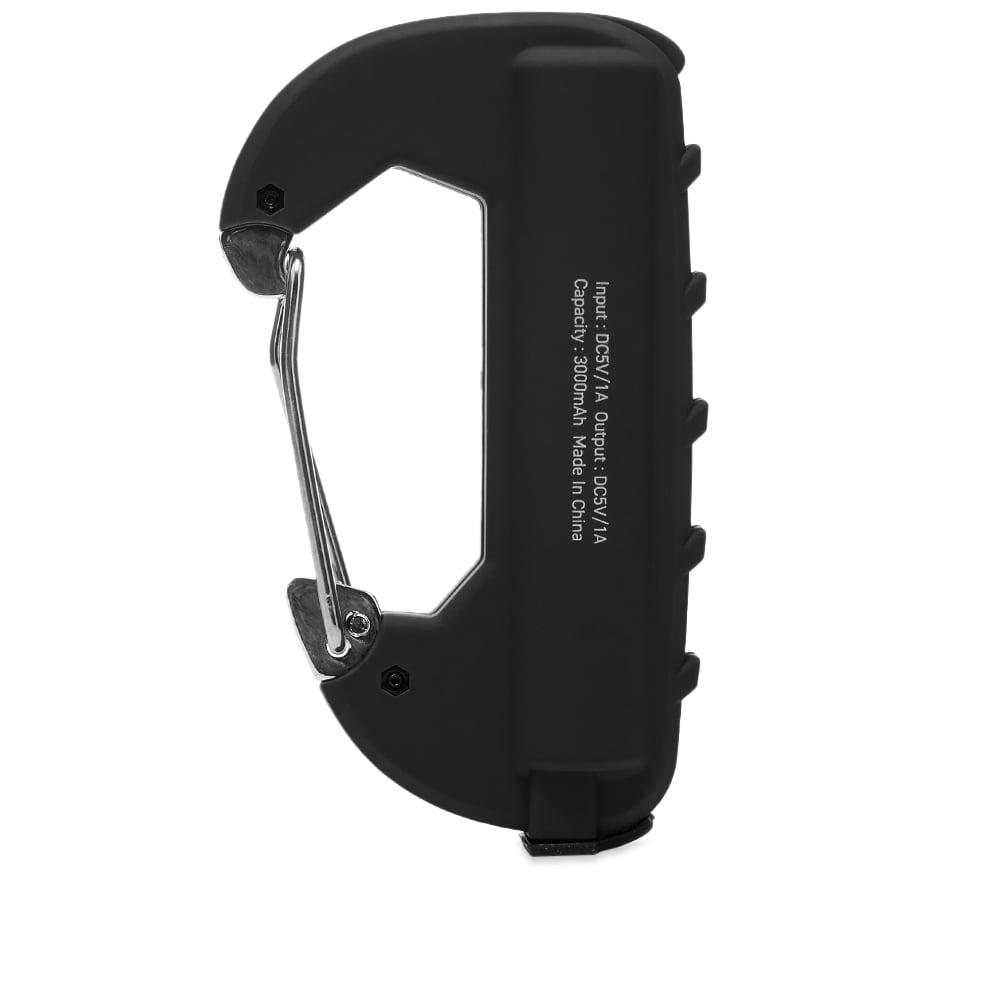 Ampersand Factory Single Carabiner Battery Pack - Black
