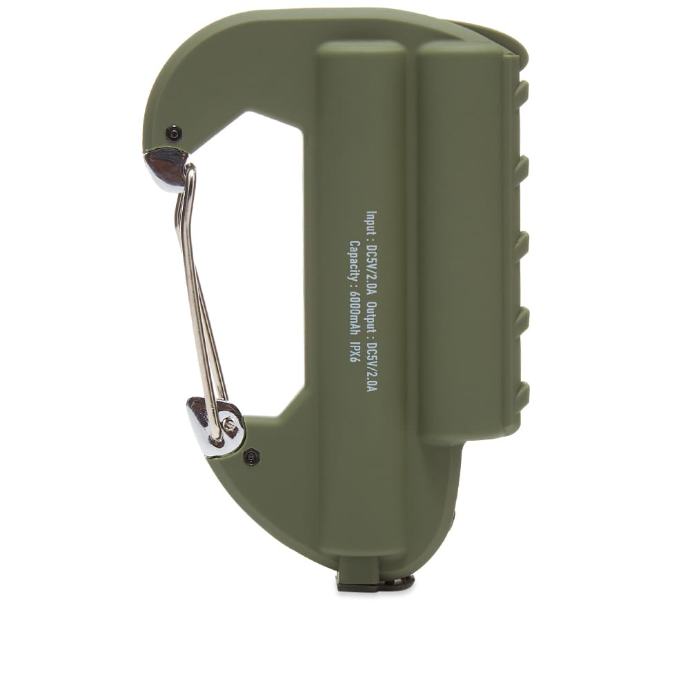 Ampersand Factory Double Carabiner Battery Pack - Olive