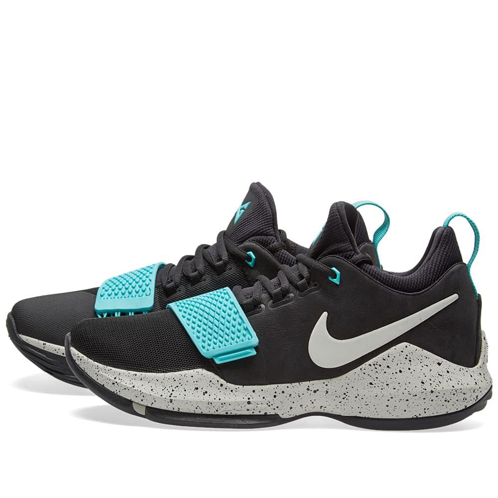 Nike PG 1 Black, Light Bone \u0026 Aqua   END.