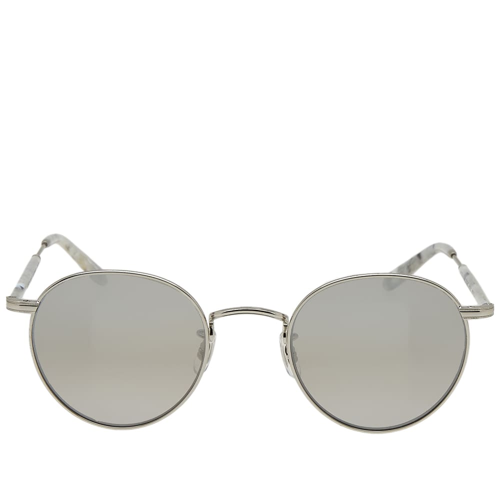 Garrett Leight Wilson M Sunglasses - Moonrock & Grey Shadow