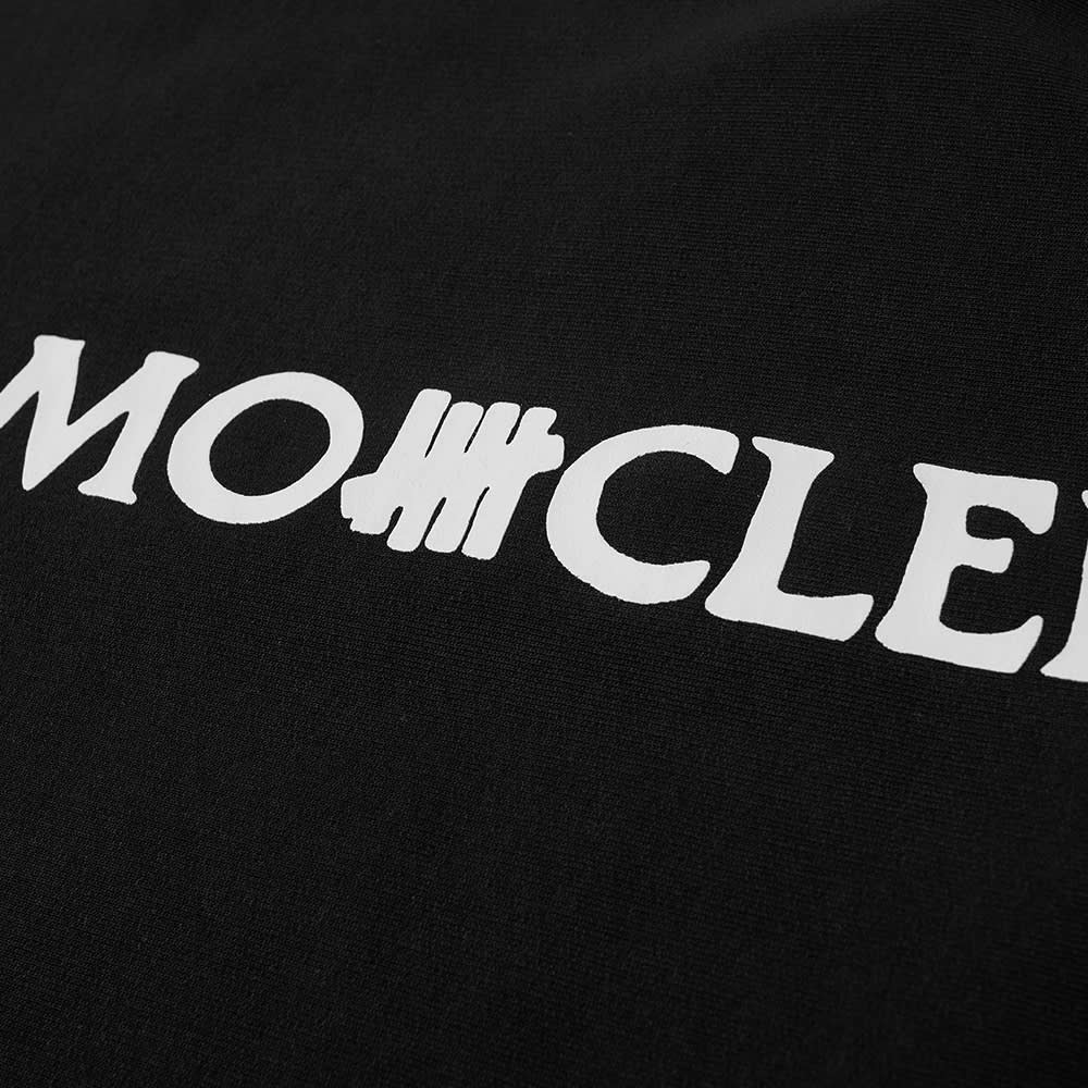Moncler Genius 2 Moncler 1952 x Undefeated Logo Text Crew Sweat - Black