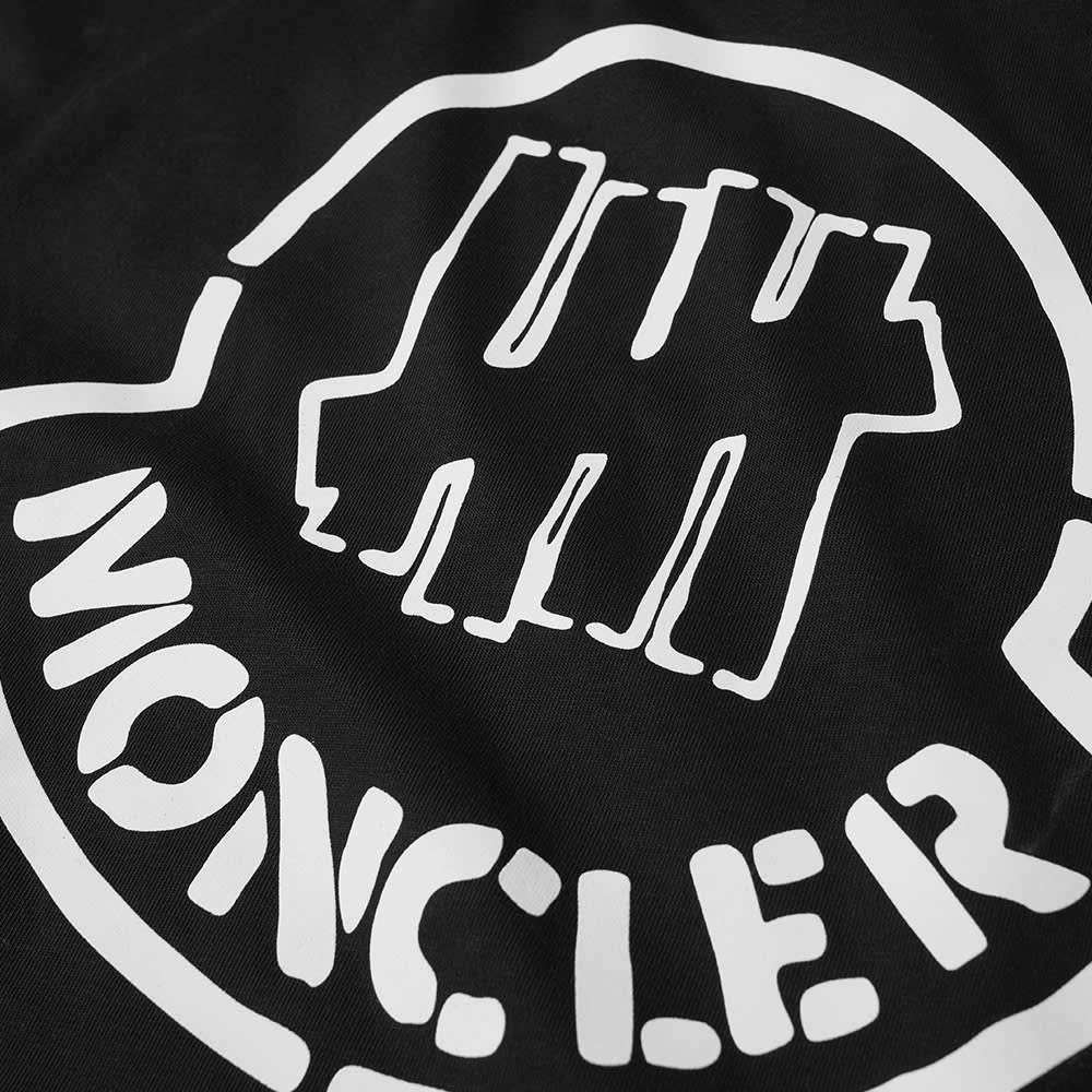 Moncler Genius 2 Moncler 1952 x Undefeated Long Sleeve Logo Print Tee - Black