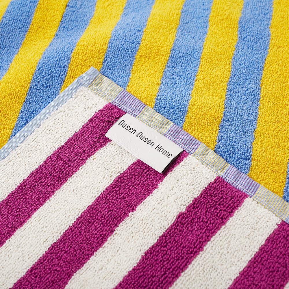 Dusen Dusen Hand Towel - Lilac Stripe