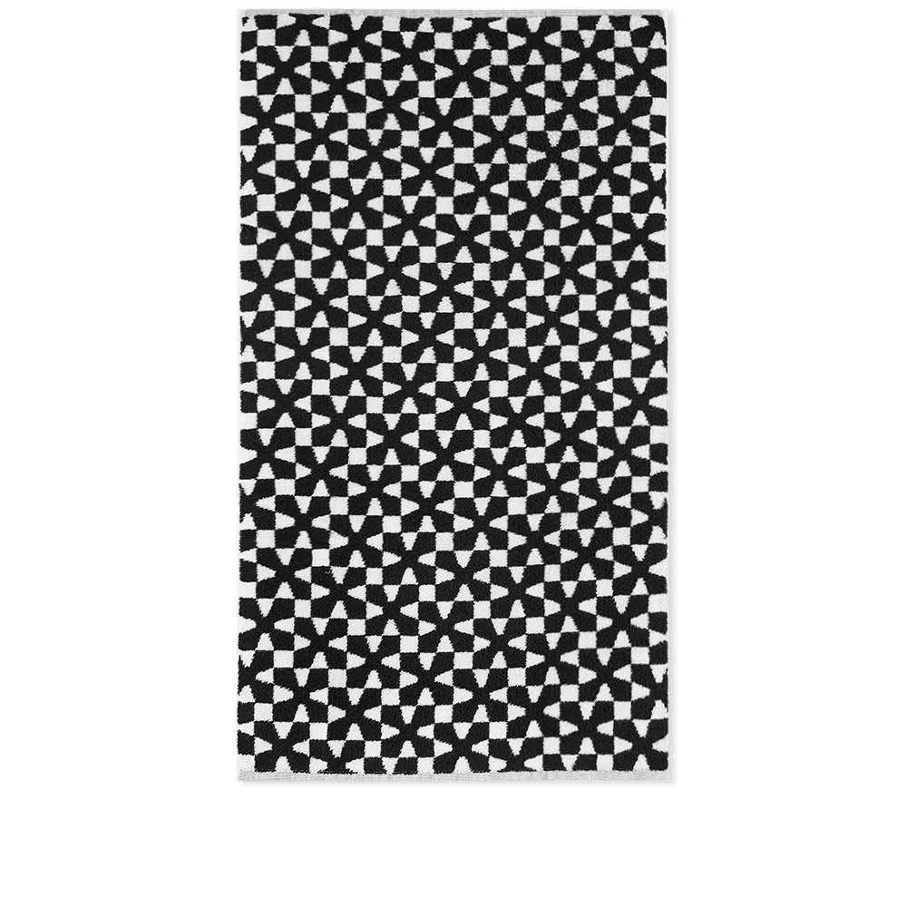Dusen Dusen Hand Towel - Black & White Pinwheel