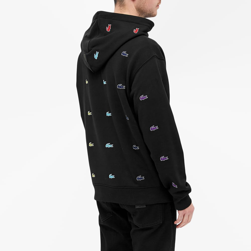 Lacoste L Ve X Chinatown Market Hoody Black End