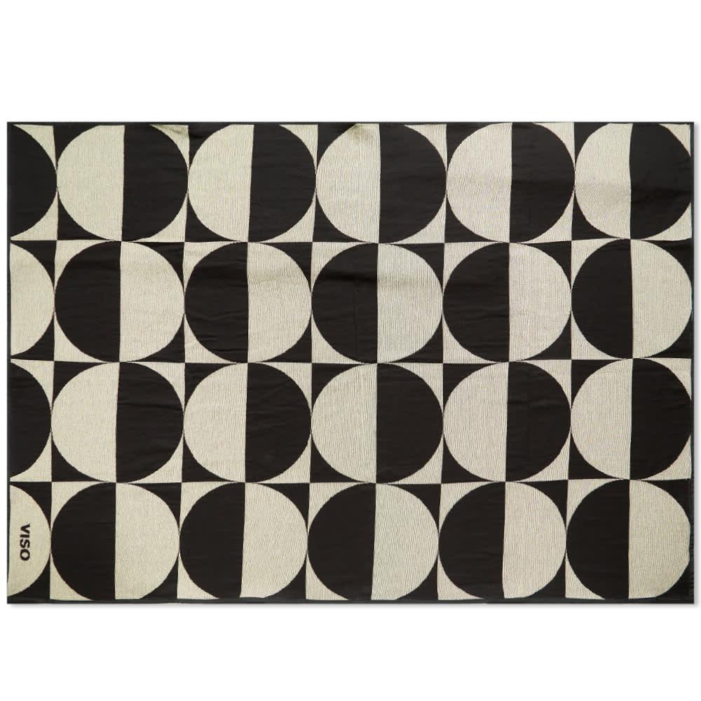 Viso Project Tapestry Blanket V74 - Cream & Black