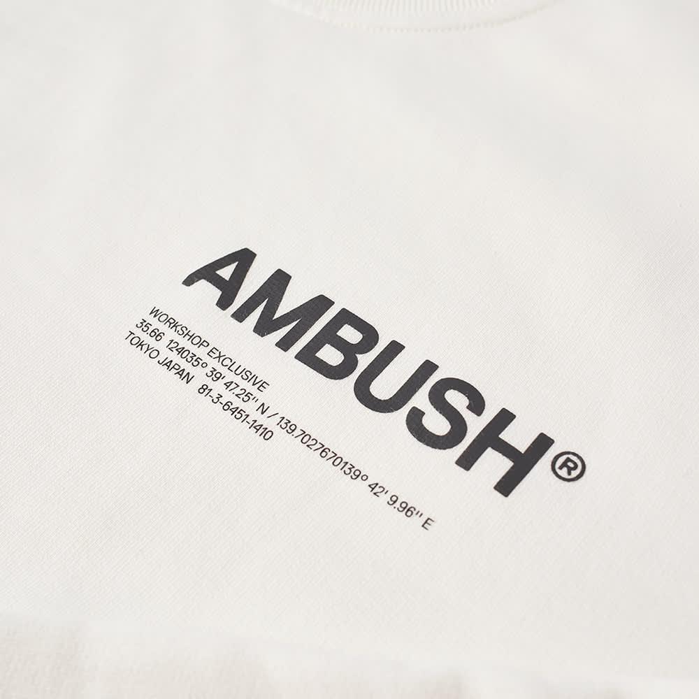 Ambush Logo Crew Sweat - Tofu & Black