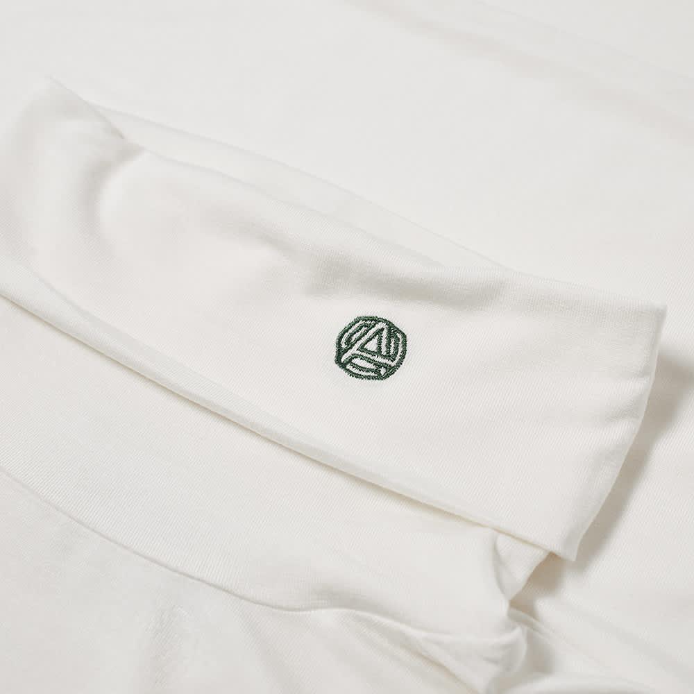 Ambush Long Sleeve Emblem Logo Turtleneck Tee - Tofu & Thyme