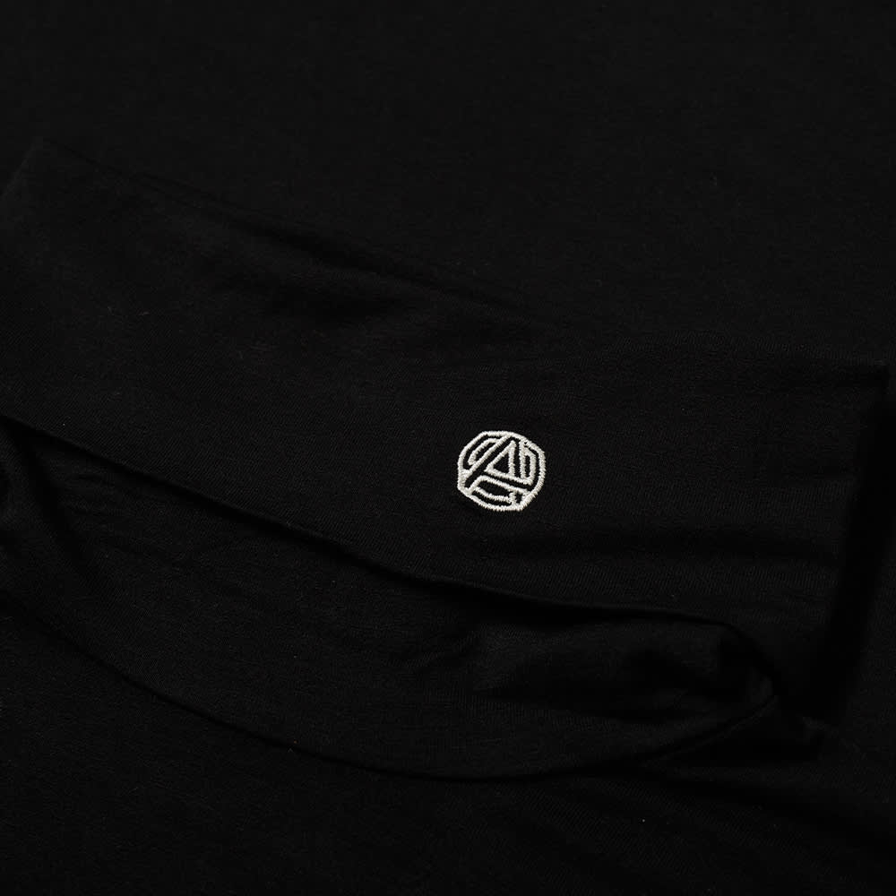 Ambush Long Sleeve Emblem Logo Turtleneck Tee - Black & Tofu