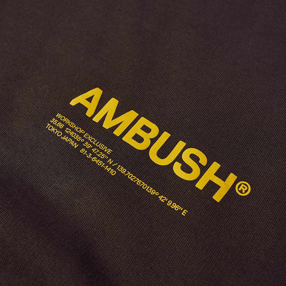 Ambush Logo Crew Sweat - Chocolate Torte