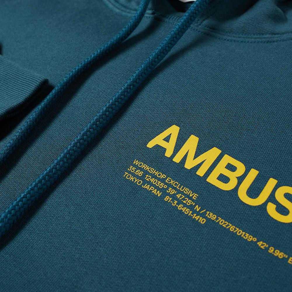 Ambush Logo Popover Hoody - Deep Sol