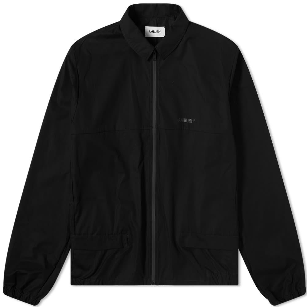 Ambush Windbreaker Bag Jacket - Black & Black