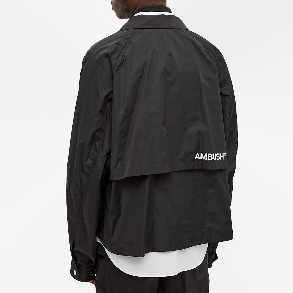 Ambush Nylon Logo Windbreaker - Black & Tofu