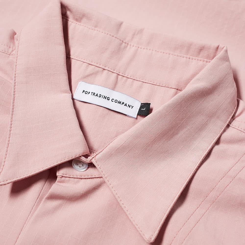 POP Trading Company Italo Short Sleeve Shirt - Zephyr