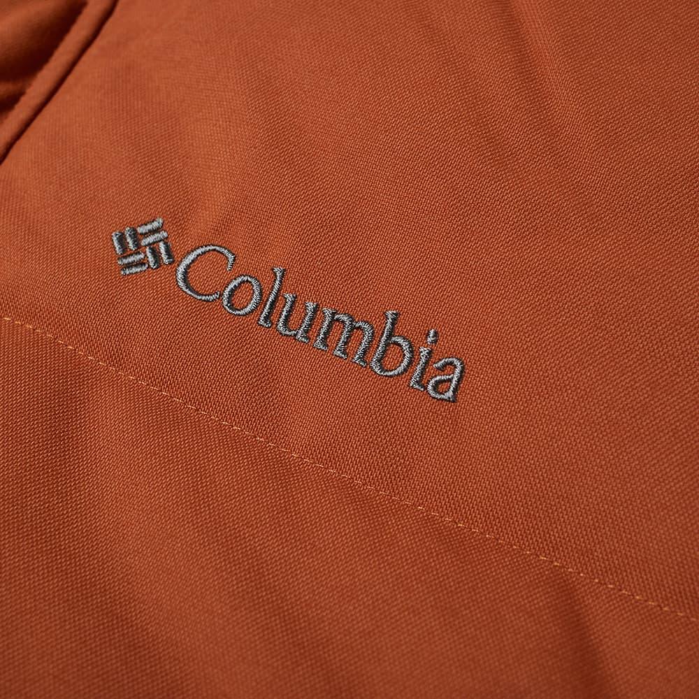 Columbia Rockfall II Down Jacket - Dark Amber & Canvas