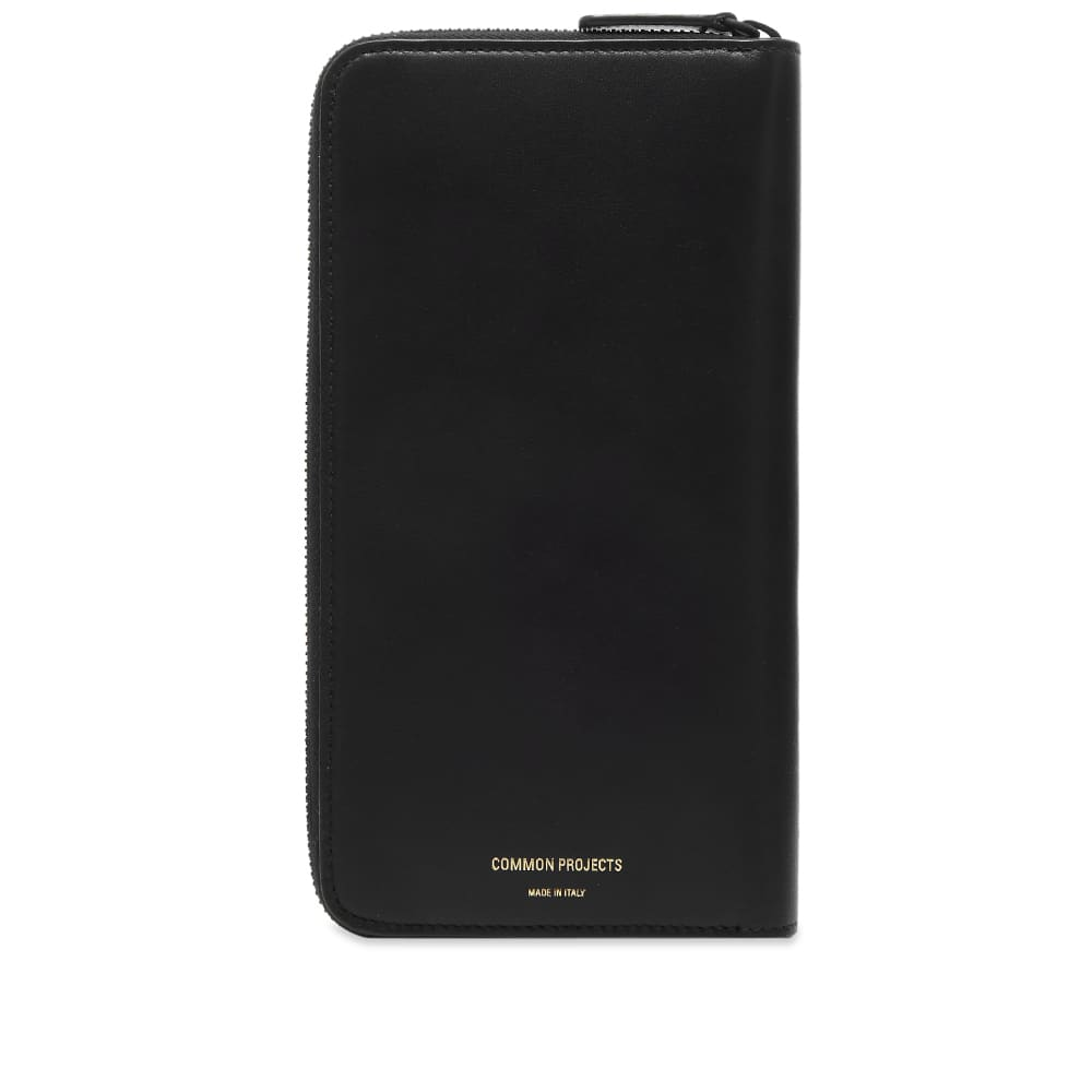 Common Projects Continental Wallet - Black