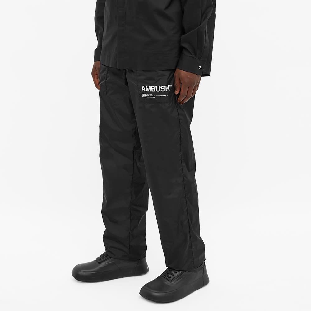 Ambush Nylon Logo Pant - Black & Tofu