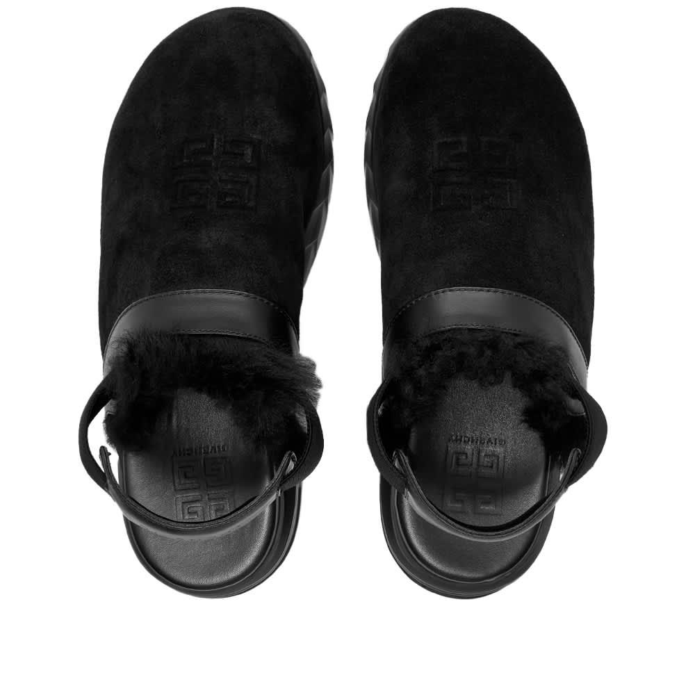 Givenchy Marshmallow Slingback Clog - Black
