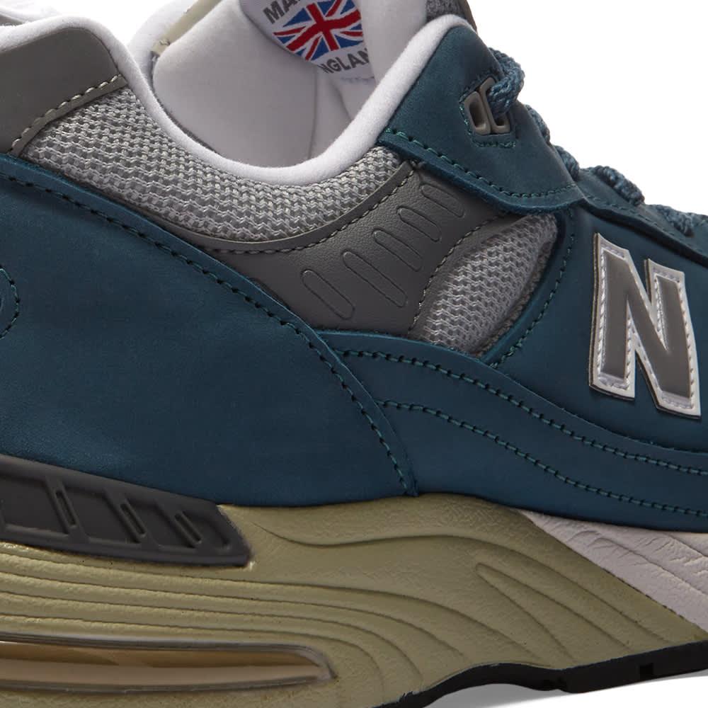 New Balance M991BSG - Made in England - Slate Blue & Grey