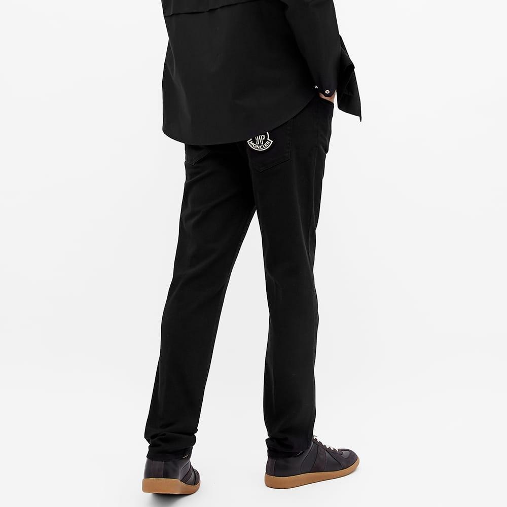 Moncler Genius 2 Moncler 1952 5 Pocket Slim Jean - Black