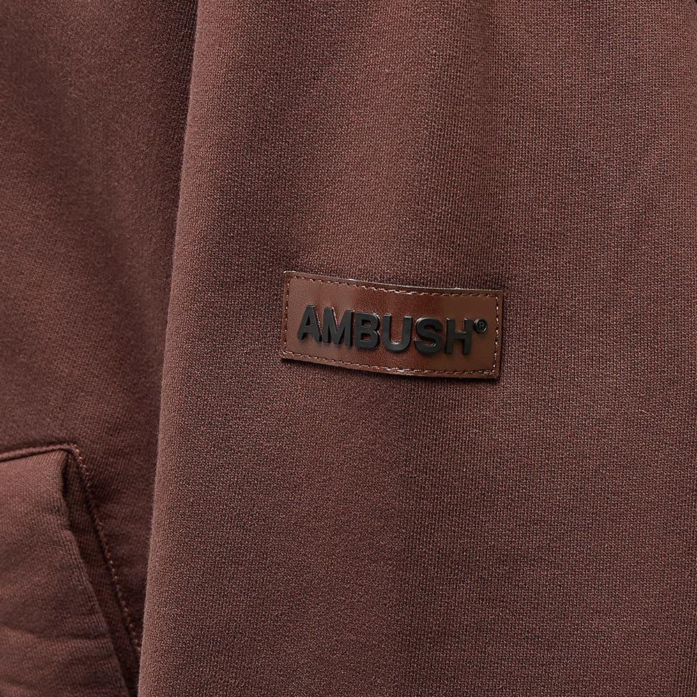 Ambush Jersey Cardigan - Deep Mahogany Brown