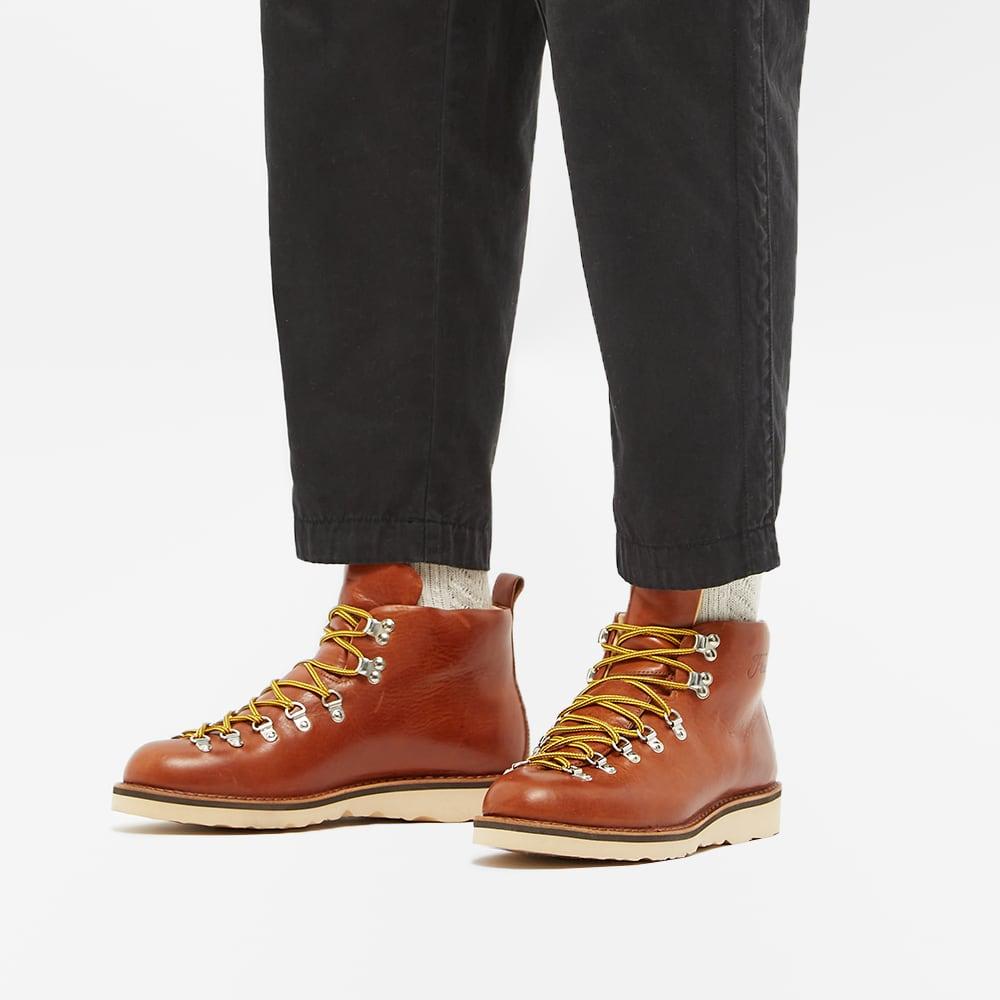 Fracap M120 Ripple Sole Scarponcino Boot - Brandy