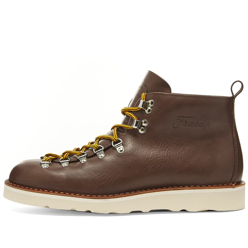 Fracap M120 Cristy Vibram Sole Scarponcino Boot - Dark Brown