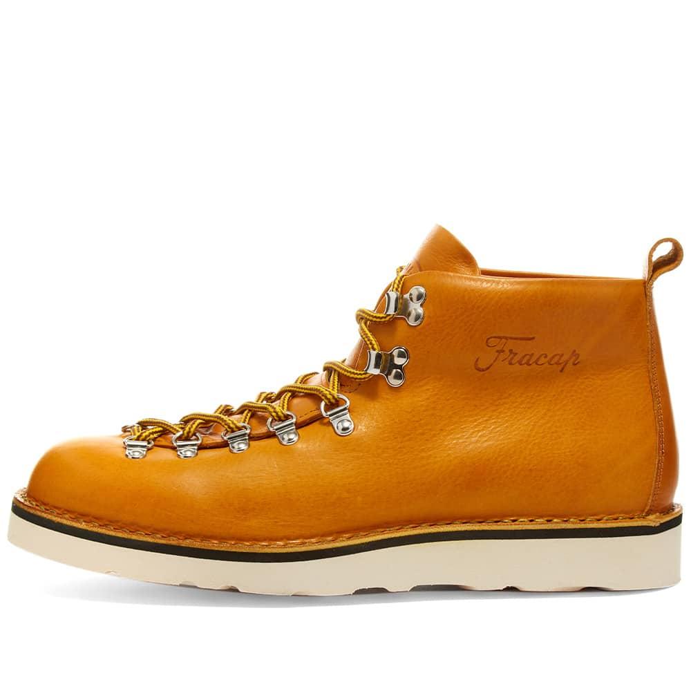 Fracap M120 Cristy Vibram Sole Scarponcino Boot - Mustard